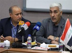 گزارشی از دیدار وزیر ورزش عراق با مهدی تاج