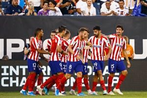 گل دوم اتلتیکو به رئال مادرید توسط ژائو فلیکس