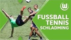 فوتبال تنیس جذاب بازیکنان وولفسبورگ