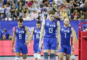 فعالیتهای تیمهای ملی والیبال روسیه لغو شد