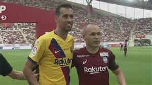 اولین تقابل آندرس اینیستا با بارسلونا