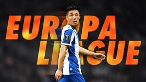 اولین بازی یک فوتبالیست چینی در لیگ اروپا
