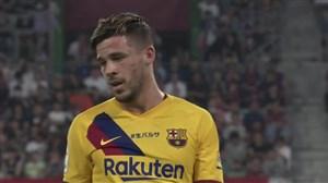 گل اول بارسلونا به ویسل کوبه توسط کارلوس پرز