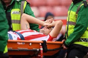 شکستگی شدید پای رایان شاوکراس در بازی برابر لسترسیتی