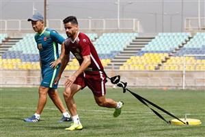 کامیابی نیا آماده برای افتتاحیه لیگ