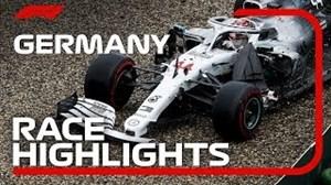 هایلایت مسابقات فرمول 1 گرندپری آلمان 2019