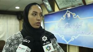 صحبت های کیمیا علیزاده پس از اهدای لباس به کمپین ورزش سه