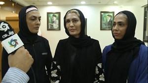 صحبت های خواهران منصوریان درباره کمپین ورزش سه