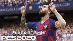 چهره بازیکنان بارسلونا در بازی PES 2020