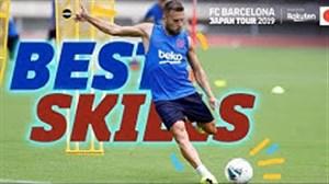 مهارتهای بازیکنان بارسا در تور پیش فصل ژاپن