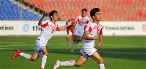 نوجوانان ایران 6 امتیازی شدند