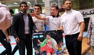 مراسم تجلیل از کمیل قاسمی دارنده مدال طلای المپیک ۲۰۱۲ لندن