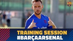 تمرین امروز تیم بارسلونا (10-05-98)