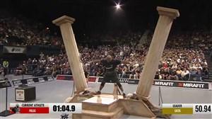 رکورد شکنی در مسابقات قویترین مردان جهان