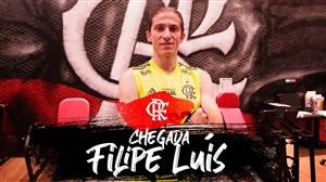 اولین روز حضور فلیپه لوئیز در تمرینات فلامینگو