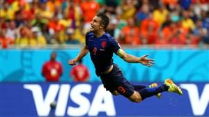 بازی خاطره انگیز هلند 5 - اسپانیا 1 (جام جهانی 2014)