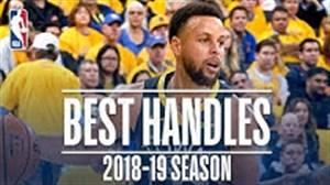 برترین هندلس های استفن کری در بسکتبال NBA فصل 19-2018