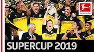 پشت صحنه جشن قهرمانی دورتموند در سوپرکاپ آلمان2019