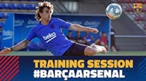 تمرینات امروز بارسلونا(13-05-98)