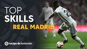 مهارتهای بازیکنان رئال مادرید در فصل19-2018 لالیگا