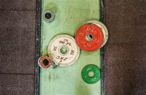 وزنهبرداران ایرانی روی تخته نعیم سلیمان