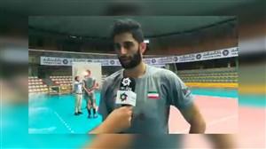 صحبت های عبادی پور درباره شرایط خود و تیم ملی