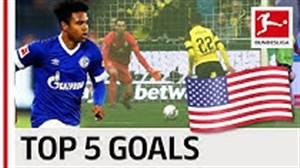 5 گل برتر بازیکنان آمریکایی بوندسلیگا
