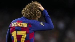 خبر بد به گریزمان علیرغم جدایی کوتینیو از بارسلونا