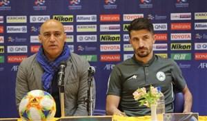 صحبتهای منصوریان و حدادی فر پس از بازی با الاتحاد