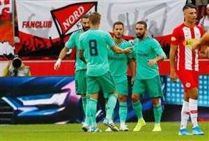 پیروزی رئال مادرید مقابل سالزبورگ با اولین گل هازارد