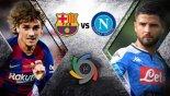 خلاصه بازی ناپولی 1 - بارسلونا 2