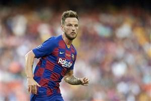 گل دوم بارسلونا به ناپولی(راکیتیچ)