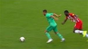 عملکرد هازارد با زدن اولین گل برای رئال مقابل سالزبورگ