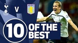 10 گل برتر و دیدنی تاتنهام برابر استون ویلا