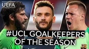 برترین دروازه بانان لیگ قهرمانان اروپا فصل 19-2018