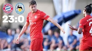 خلاصه بازی بایرن مونیخ 23 - روتاش اگرن 0