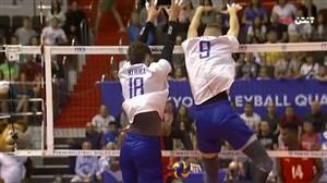 خلاصه والیبال روسیه 3 - کوبا 0 ( انتخابی المپیک )