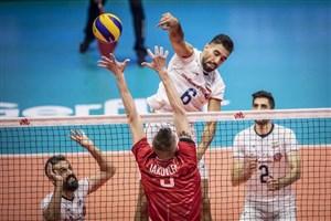 پیش بازی دیدار والیبال روسیه - ایران (انتخابی المپیک)