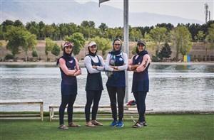 ترکیب تیمملی آبهای آرام بانوان برای رقابتهای جهانی