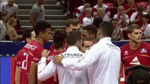 خلاصه والیبال فرانسه 3 - تونس 1 (انتخابی المپیک)