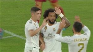 گل اول رئال مادرید به آ اس رم (مارسلو)
