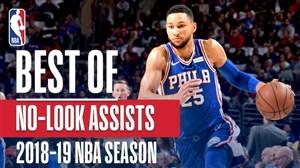 برترین پاس گلها در فصل 19-2018 بسکتبال NBA
