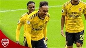 باشکوهترین لحظات توپچیهای لندن در فصل 19-2018