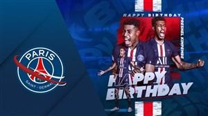 تبریک تولد 24 سالگی کیمپمبه توسط باشگاه پاری سن ژرمن