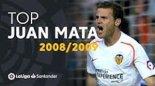 برترین لحظات خوان ماتا در لالیگا 2009-2008