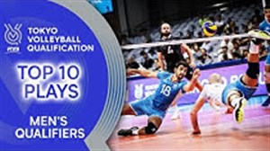 10 حرکت برتر مرحله انتخابی والیبال المپیک 2020