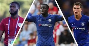 مهارتهای مدافعان تیم چلسی در فصل 19-2018