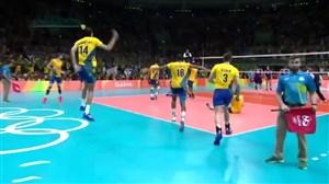 والیبال خاطره انگیز برزیل-ایتالیا (فینال المپیک2016ریو)