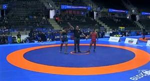 پیروزی بداغی برابر حریف ارمنستانی در وزن 63 کیلو