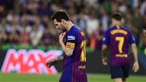 خبر بد به بارسلونا در مورد لیونل مسی